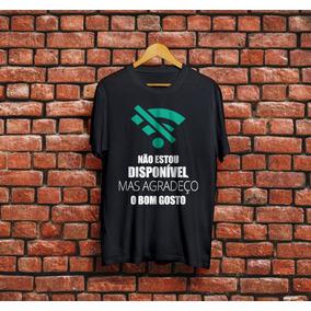 Camiseta Wifi Camisa Engraçada Frases Babylook E Unisex
