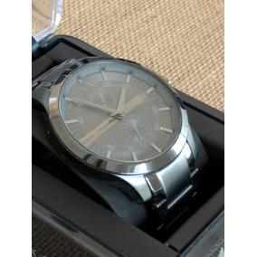 Reloj Armani Exchange Extensible Metal Color Gris Titanio