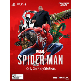 Poster Spider Man Ps4