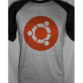 Camiseta Raglan Ubuntu Sistemas De Ti Open Source 7270043c38f