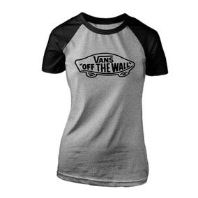 Camiseta Vans Feminina - Camisetas Manga Curta no Mercado Livre Brasil 4cdf4b70edc