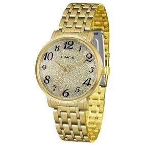 d1f2e542a7f Relogio Feminino Dourado Com Numeros - Relógios no Mercado Livre Brasil