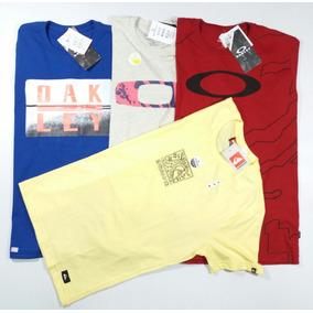 Kit 10 Camisa Camiseta Blusa Masculina Oakley Atacado Roupas e0a7f62c9ee