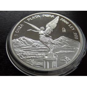1 Onça Prata Pura. México 2008. Estados Unidos Mexicanos.