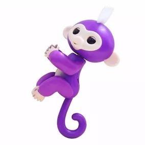 Agarradinho Happy Monkey Sensor Fingerlings Macaquinho Bebe