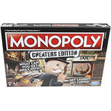 Hasbro Monopoly Game: Cheaters Edition Board Game Ages 8 And