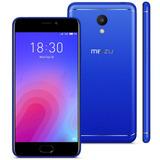 Smartphone Meizu M6 Azul, Tela 5,2, 3gb Ram, 32gb, Dual Sim
