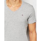 Camiseta Tommy Hilfiger 100% Original Hombre En V