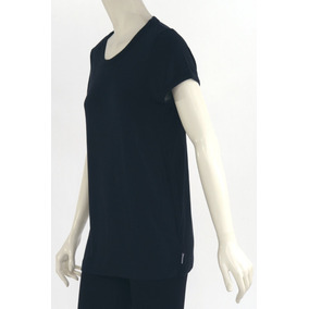 T-shirt Azul Marina Dkny