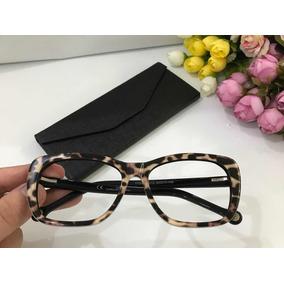 1e97d890b9d7c Armacao De Oculos De Grau Onca Armacoes - Óculos no Mercado Livre Brasil