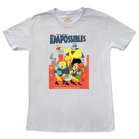 Camiseta Hanna Barbera Os Impossiveis - Camisetas no Mercado Livre ... 3615ba89efc86