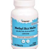 Vitamina B12 Sublingual 1000mcg 120 Tabletes Metilcobalamina