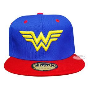 Wonder Woman Mujer Maravilla Gorra Dc Comics Envio Gratis !