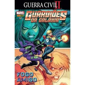 Hq Guardiões Da Galáxia Nº 12 Ed. Nov/2017 - Memórias....