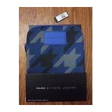 Marc By Marc Jacobs Alumnum Blue Grey Tablet Bag *nwt* $78.0