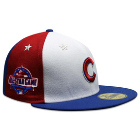 Gorra New Era 59 Fifty Mlb Cubs All Star Game 2018 Azul rojo 4e9833dd65e