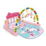 Tapete Atividade Bebê Piano Villa Rosa