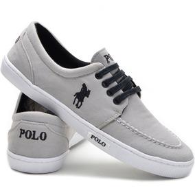 4fe9e0fb862 Sapatenis Casual Tênis Polo Plus Promoção Outlet Franca!! 12 cores
