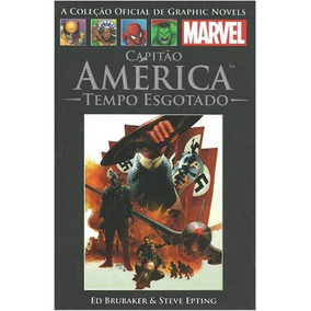 Graphic Novel Capitao America Tempo Esgotado Salvat Lacrada