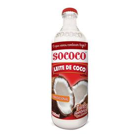 Kit C/ 10 Leite Coco Sococo Vd 500ml Tradicional
