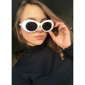 Oculo Oval Branco De Sol - Óculos no Mercado Livre Brasil 1808583bc6