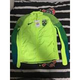 Jaqueta Nike Time Brasil Olimpíadas Rio 2016 Feminina b7ff6933331be