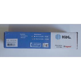 Fechadura Elétrica M90-180e 12v Cinza Hdl Com Suporte Lz180