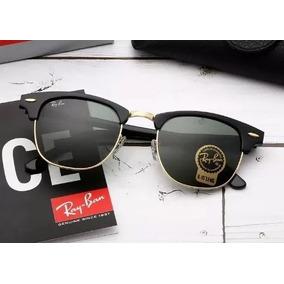 Rayban Clubmaster Rb3016 Azul - Óculos no Mercado Livre Brasil 368572c469