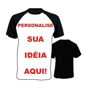 c44f98fd7583c Camiseta Raglan Personalizada Frente E Verso - Camisetas e Blusas no ...