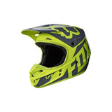 Casco De Carreras Fox Racing V1 2017-amarillo-2xl