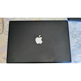 Macbook Preto Com Defeito (tela Branca) Cd Fonte Memoria Hd