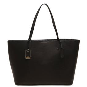 Bolsa Capodarte Original Shopper Grande Preta - Cod: 4602213
