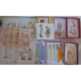 Lote 45 - 411 Itens Papel Papéis De Carta Coleção Sarah Kay