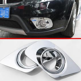 Moldura Capa Farol Milha Cromado Fiat Freemont Dodge Journey