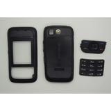 Carcaça Completa Celular Nokia 5200 Slide Preto