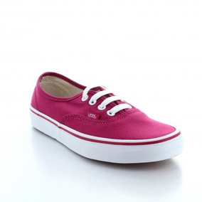 Tenis Vans Authentic Rosa / Bco Unisex Original 38emdny