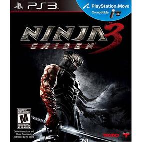Ninja Gaiden 3 - Ps3 - Mídia Física