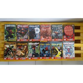 Coleção Incompleta Do Homem Aranha Superior