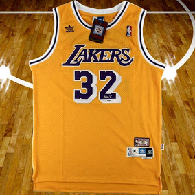 Magic Johnson Jersey Original Firmado Certificado Psa/dna