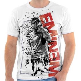 Camiseta Camisa Cantor Ator Eminem Rapper Rap Swag Hip Hop 5 76823a07d9f