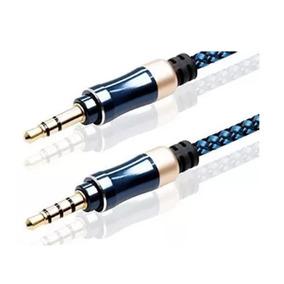 Cable Plug A Plug Mini 3.5 Auxiliar Audio Reforzado Cordon