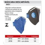 Mascara Pff1 100 Unidades - Ferramentas Manuais no Mercado Livre Brasil 93395ef6d2