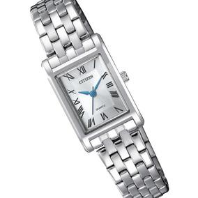 Reloj Dama Citizen Ej6120-54a Acero Cuarzo Regalo Para Mamá