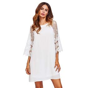 Vestido Guipur - Vestidos de Mujer en Mercado Libre Argentina 573f162528cd