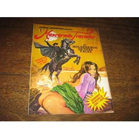 O Mascarado Traçador Nº 1 Fev 1980 Formato Magazine Ideia E