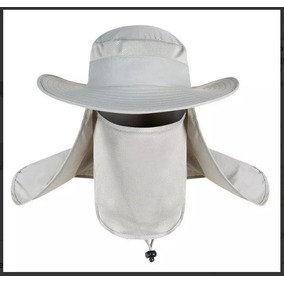Sombrero Protector Solar Rostro Cuello Pesca Campo Upf 50 1741b462572