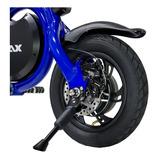 Bicicleta Eletrica Enjoy 350w Azul Mymax