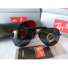 4acdbf1cfedbc Oculos Ray Ban Caçador Couro Original - Óculos no Mercado Livre Brasil
