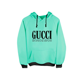 Sudadera Con Gorro Gucci Hoodie Rosa-menta-naranja Moda