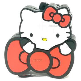 Memorias Usb Figuras Hello Kitty Moño Rojo 8 Gb